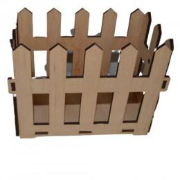 Декоративный ящик Забор
