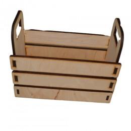 Декоративный деревянный ящик