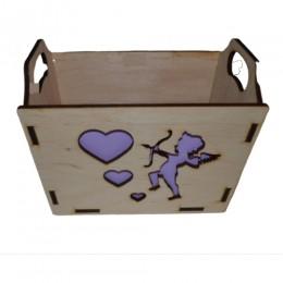 Декоративная коробка Купидон