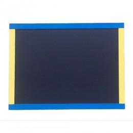 """Меловая доска """"Украина"""" 80х60 см желто-голубая"""