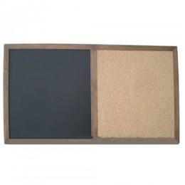 Доска меловая/пробковая, 95х50 см