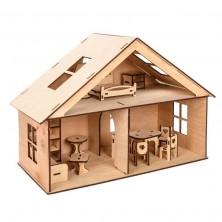 Деревянные домики для кукол ЛОЛ