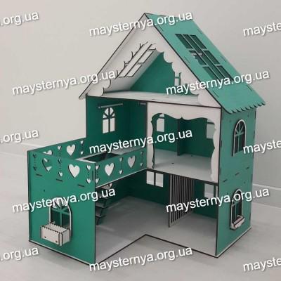 Красочный дом для кукол LOL