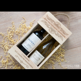 Коробка для вина 2 бутылки