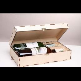 Коробка для вина Ваш логотип